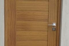 Porta LONTANO - alumínio padrão madeira